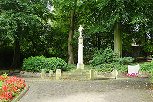 The Cenotaph in Astley Park