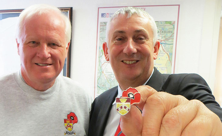 Chorley Remembers Pin Badge launch