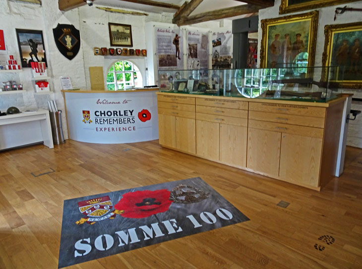 The new Chorley Remembers Experience, July 2016