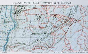 WW1 trench map from 1916
