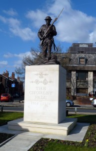 The Chorley Pals Memorial, one year on