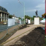 The Chorley Pals Memorial site, 1st August 2012