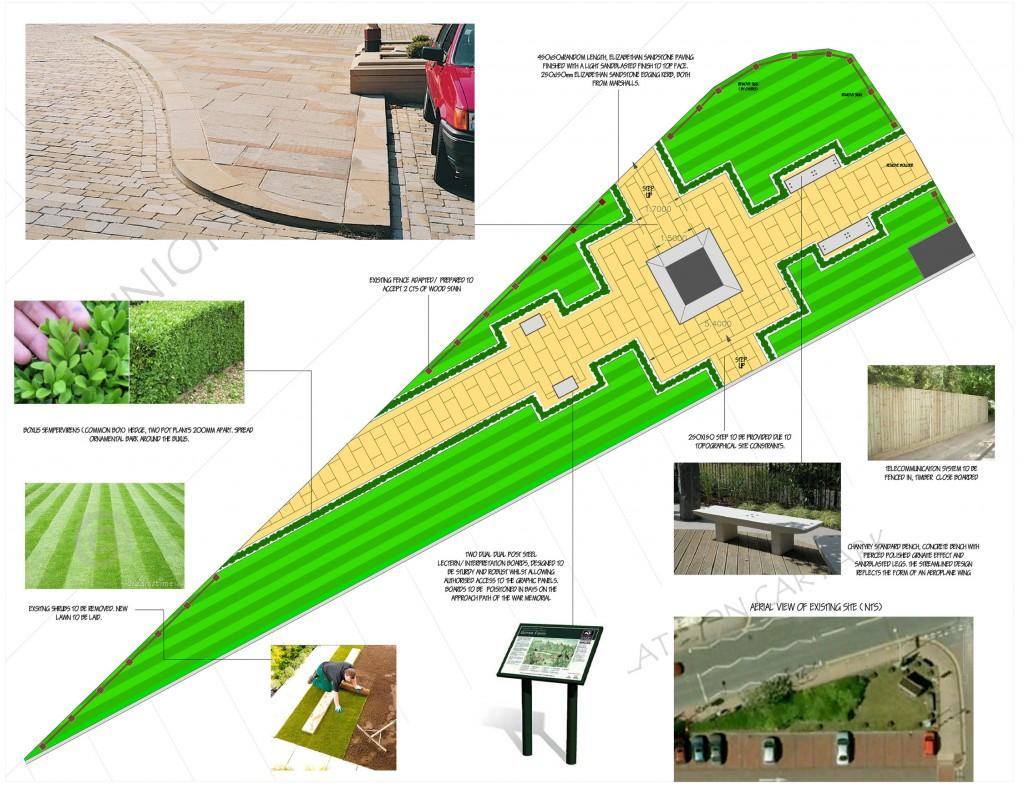 Chorley Pals Memorial Plans 2012