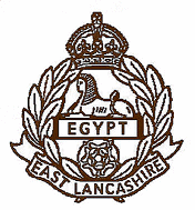 East Lancashire Regiment Badge