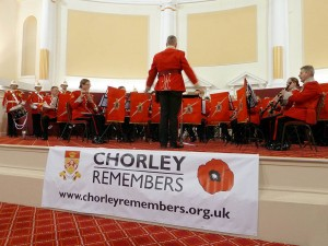 Gibraltar Band at Chorley Town Hall, 2011