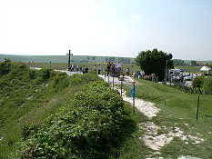 The group touring the Somme