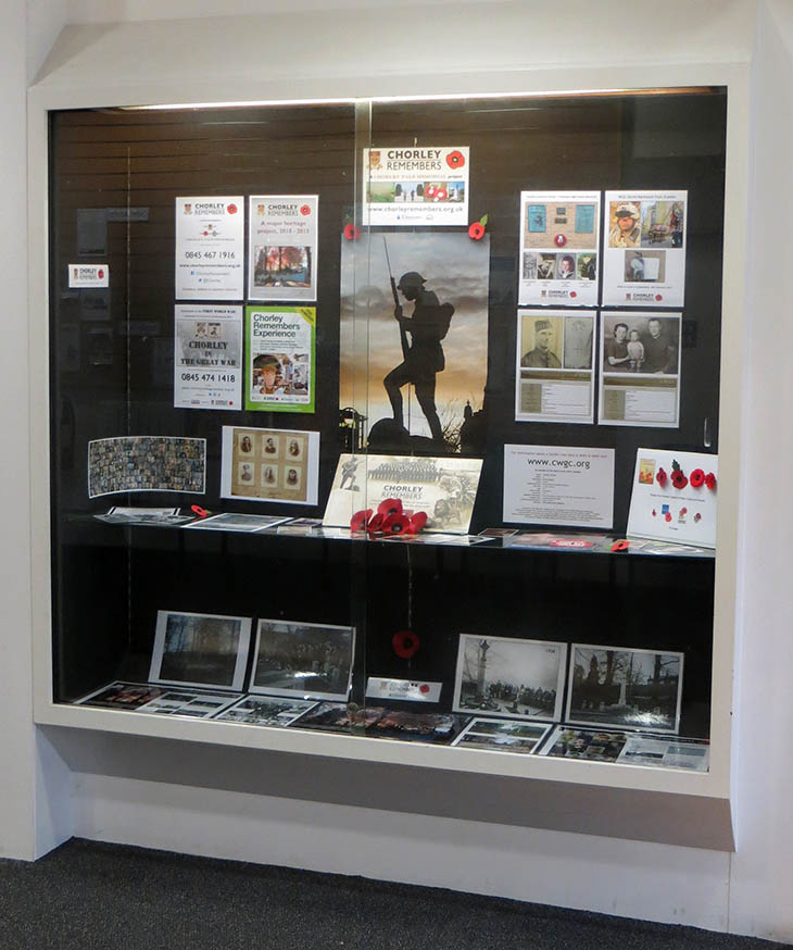 Chorley Library display November 2013