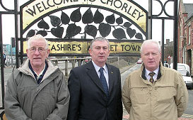 John Garwood, Lindsay Hoyle MP & Steve Williams