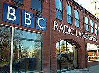 BBC Radio Lancashire's studios in Blackburn