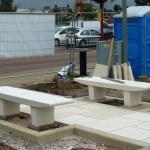 Chorley Pals Memorial upgrade work 130812 3